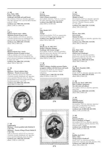 AUKČNÍ KATALOG AUCTION CATALOGUE - Valentinum