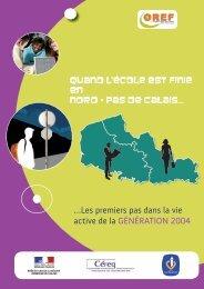 …Les premiers pas dans la vie active de la Génération 2004 - C2RP