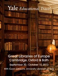 Great Libraries of Europe - Yale University