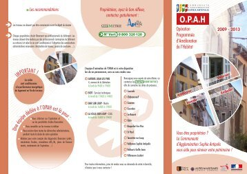 Brochure OPAH imprimable - Tourrettes-Sur-Loup