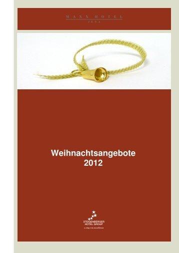 Download Angebote zur Weihnachtszeit - Steigenberger Hotels and ...