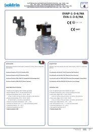 brochure valvole da abbinare - Watergas