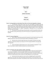 legislation - Commission on European Family Law