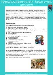 Informationsblatt Verleih Forscherkiste+E-Fahrrad - S.O.F. Save Our ...