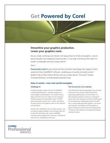 Sales flyer_to show - Corel Corporation