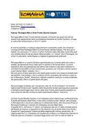 Faenza: Romagna Bike e Gran Fondo Davide ... - RomagnaNotte