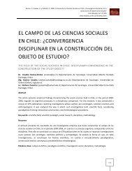 leer en PDF - Facultad de Ciencias Sociales - Universidad de Chile