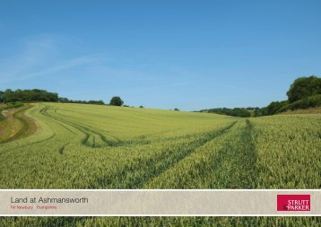Land at Ashmansworth - Farming