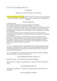 Décret n° 2000-524 - PLATEFORME OUVRAGES D'ART -