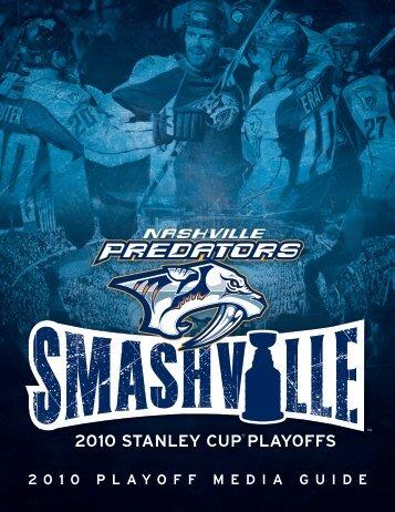 2 0 1 0 P L A Y O F F M E D I A G U I D E - Nashville Predators