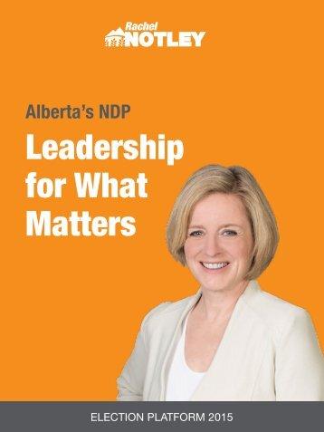 NDP_AlbertaPlatformBook_2015_WebDownload_FINAL