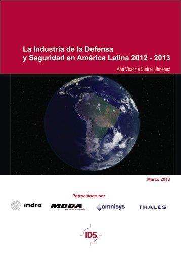 La Industria de la Defensa y Seguridad en América ... - Infodefensa