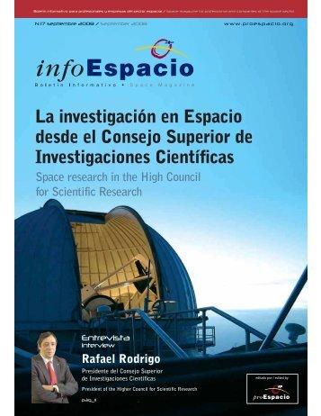 La investigación en Espacio desde el Consejo Superior de ...