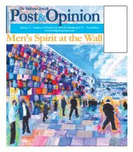 Men's Spirit at the Wall - Jewish Post & Opinion