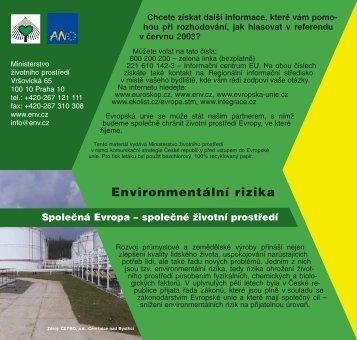 Environmentální rizika