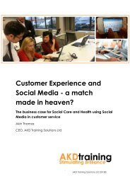 Customer Experience and Social Media - a match made in heaven?