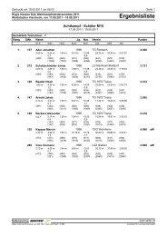 Ergebnisliste - Leichtathletikweb.de