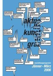 Ausstellungsprogramm - Aktuelle Kunst in Graz