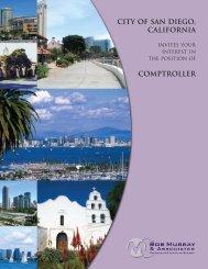 City Of San Diego, California - Bob Murray & Associates