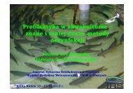 Profilaktyka w akwakulturze – znane i mniej znane metody dezynfekcji