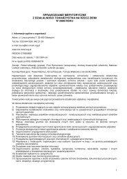 Sprawozdanie merytoryczne [.pdf] - Towarzystwo na rzecz Ziemi