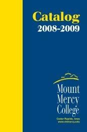 2008-09 - Mount Mercy University
