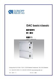 DAC basic/classic - Durkopp Adler AG
