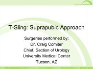 T-Sling Suprapubic Pictorial - Urogyn.org