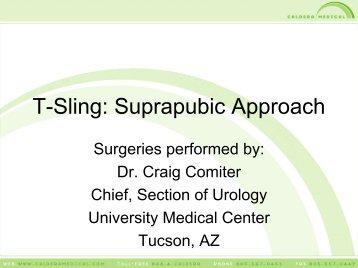 T-Sling Suprapubic Pictorial - Urogyn.org