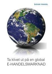 E-HANDELSMARKNAD - Svensk Handel