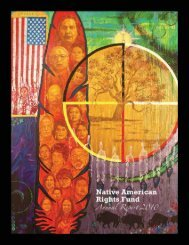 2010 Annual Report - the Native Ways Federation