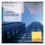 Leading International Property Advisers - Investor relations - Savills