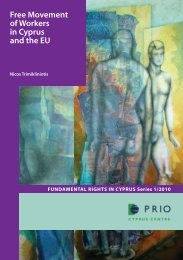 Free Movement of Workers in Cyprus and the EU - PRIO