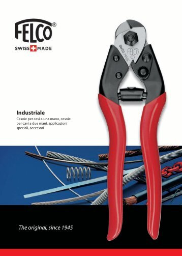 The original, since 1945 Industriale - Felco