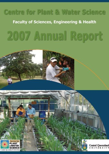 2007 Annual Report - Central Queensland University