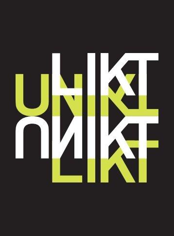 Likt Unikt (katalog) - Tekniska museet