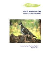 ARROW BOWEN PIPELINE - Arrow Energy