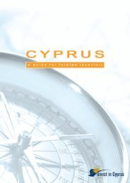 Cyprus in brief - POINT OF SINGLE CONTACT