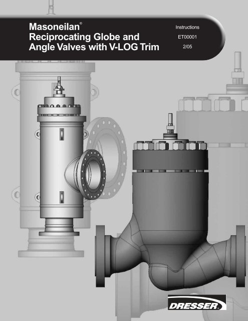 Masoneilan® Reciprocating Globe and Angle Valves ... - Fagerberg