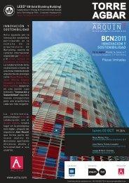 INVITACION ARQUIN7 2011 - Actiu