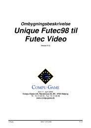 Unique Futec98 til Futec Video - Compu Game