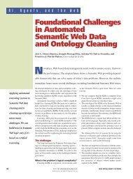 Foundational Challenges in Automated Semantic Web Data and ...