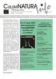 Zeitung 2 - CulumNATURA