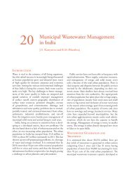 Chapter 20 - Municipal Wastewater Management in India - IDFC