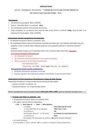"""privind completarea formularului """" CERERE DE ... - GPSM"""