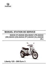 MANUEL STATION DE SERVICE Liberty 125 - 200 Euro 3