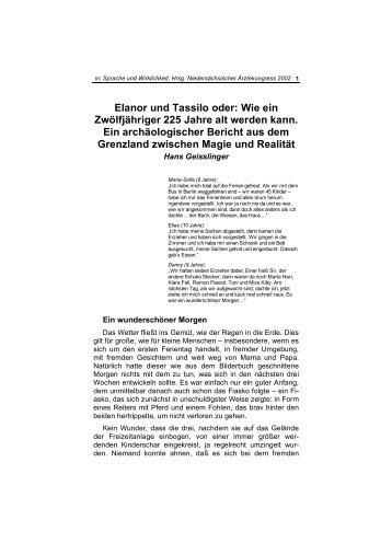 Elanor und Tassilo - story dealer berlin