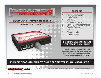Installation Guide - MotoSport
