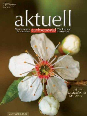 Sachsenwald aktuell - entsteht der Internetauftitt kurt-viebranz ...
