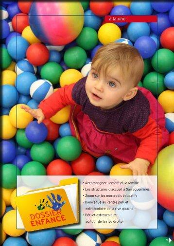 Dossier spécial enfance - Ville de Sarreguemines